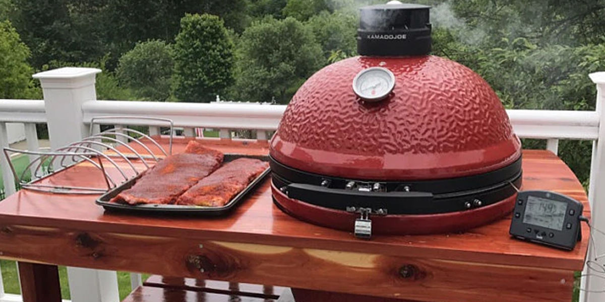 A Kamado Joe Table is a great way to improve your grilling experience