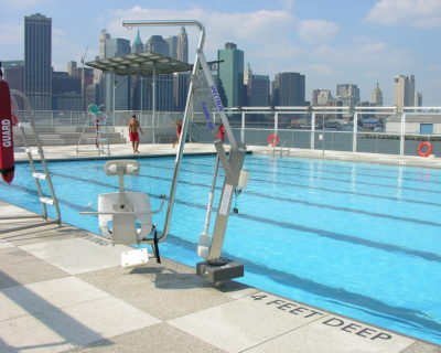 Getting a pool lift is perfect for older folks, rehabilitation and safety