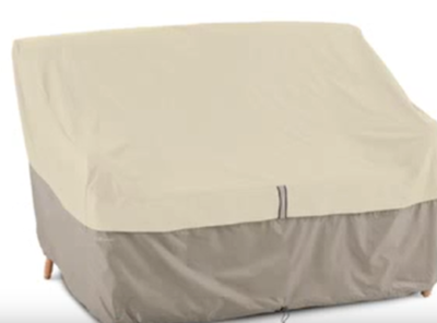 A patio loveseat cover is a great way to keep your loveseat looking new.